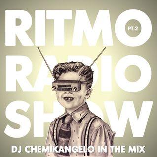 Ritmo Radio Show pt.2 - 07.04.2012 DJ CHEMIKANGELO in the mix