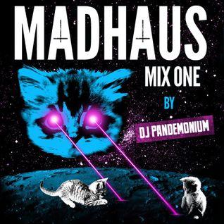 DJ Pandemonium - Madhaus Vol. 1 (Industrial / Goth / EBM / Synthpop / Alternative)