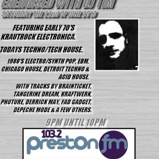 Energised With DJ Tim - 22/6/13/ - 103.2 Preston fm