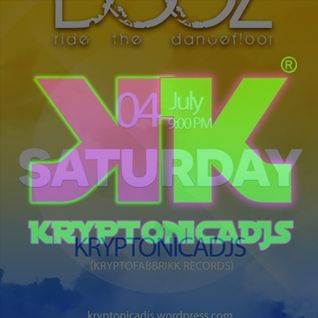 Kryptonicadjs DOOZ PARTY @tombino 4 Of July 2015