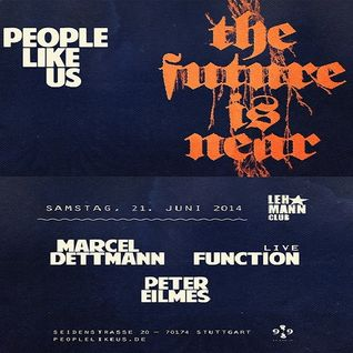 Peter Eilmes @ People Like Us-The Future Is Near - Lehmann Club Stuttgart - 21.06.2014