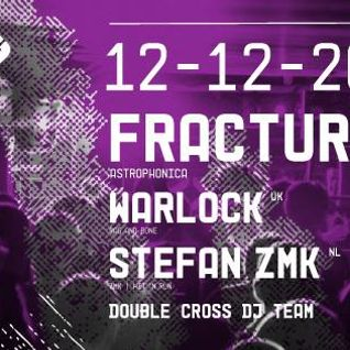 Stefan ZMK @ Double Cross @ Worm Rotterdam 2014 [bass techno electro breaks tekno jungle hardcore]