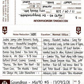 Soundhog - Mix90 #5 (17th September 2011)