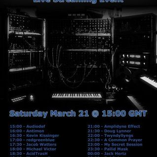 Amplidyne Effect LIVE SET March Equinox 2015 Internet Stream Event on electro-music.com