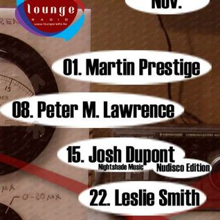 Leslie Smith - Audio Control @ Lounge Radio (Nov-22-2012)