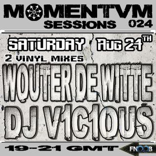 Momentvm Sessions 024 - Wouter de Witte & DJ V1C1OUS