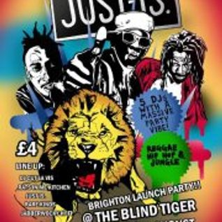 JUST IS. Promo mix - Blind Tiger Club, Brighton, 30th August 2012