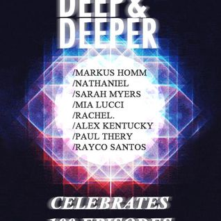 Sarah Myers Deep & Deeper 100th Episode for TunnelFM 16 Dec 2012