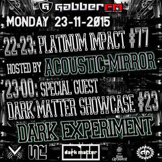 The Antemyst - Platinum Impact 77 (Gabber.fm) 23-11-2015