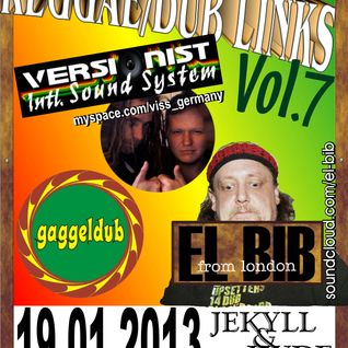 REGGAE/DUB LINKS Vol.7  GAGGELDUB Set
