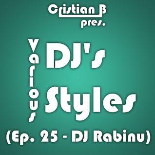 Various DJ's - Various Styles (Ep. 025)