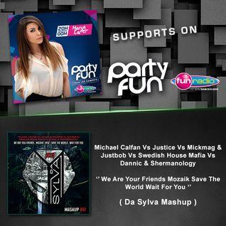 Maeva Carter Supports Da Sylva mashup ''We Are Your Friends Mozaik Save The World'' on Fun Radio