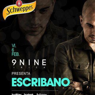 ESCRIBANO Live! @ 9NINE IBIZA 06202015