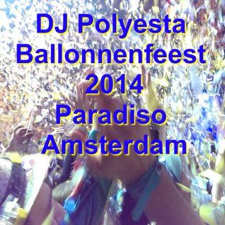 Polyesta @ Ballonnenfeest Paradiso Amsterdam 2014