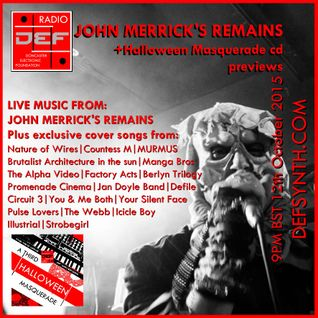 Doncaster Electronic Foundation Radio 26th October 2015 - John Mericks Remains/Masquerade3 previews