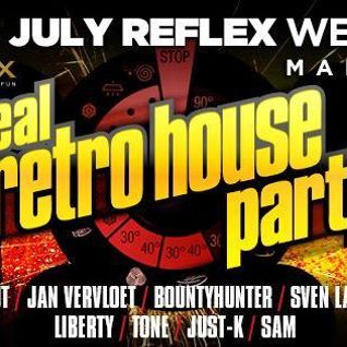Just-k @ Real Retro House Party (Club Reflex)