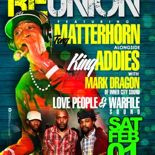 Matterhorn/Addies/Inner City/Love People/Warfile - The Reunion (part 1)