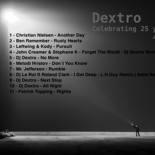 Dj Dextro _ Celebrating 25 Years of Djing _ January 2016