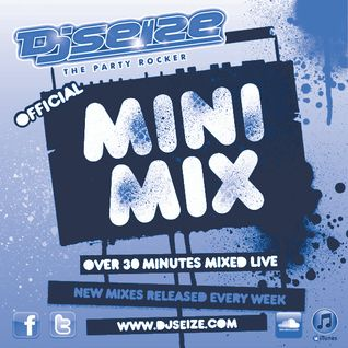 DJ SEIZE - Throwback Mini Mix (90's Hip Hop Edition) - April 2012 Week 4