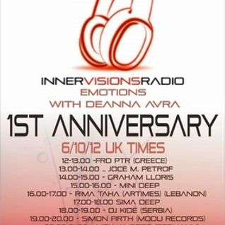 Nick Wurzer @ Emotions 1St. Anniversary on Innervisions Radio