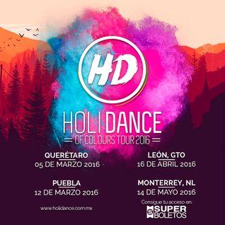 Avan #HoliDanceOfColours