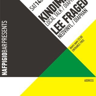 Lee Fraged b2b set with Kindimmer (Nafpigio 14/12/13)