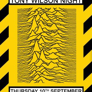 Glossop Record Club: TONY WILSON NIGHT Part 1 (September 2015)