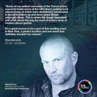 Ian Standerwick – Live @ Secret Warehouse Brooklyn (NYC) – 23-APR-2016
