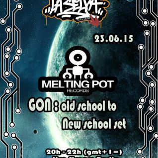 GON Melting Pot - Dj Set recorded live at La Selva Radio - 23/06/2015 - ONLY VINYL