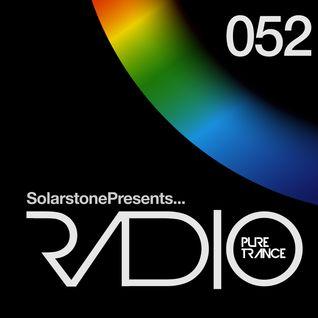 Solarstone presents Pure Trance Radio Episode 052