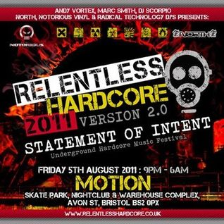 The Dj Producer @ Relentless Hardcore 05.08.2011