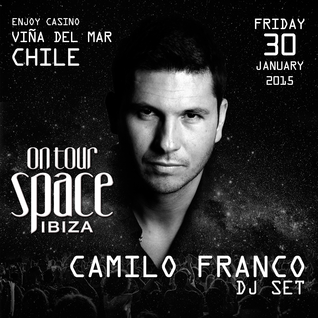 Camilo Franco DJ Set - Space Ibiza On Tour @ Enjoy Casino (Viña del Mar, Chile)