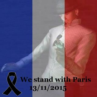We stand with Paris 13/11/2015