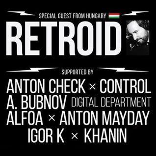 Retroid Live Set @ Welcome Music 10 Years, Dom Pechati,Yekaterinburg, Russia 19.12.2015