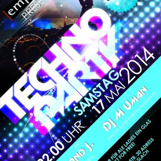 Techno set Uman@ Emporio Lounge 17.5 04