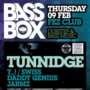 Bass Box - The Return 9th Feb 2012 - Jarmz promo mix