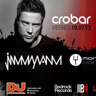 Jimmy Van M - Live at Techno Fridays Part 2, Crobar, Buenos Aires (19-07-2013)
