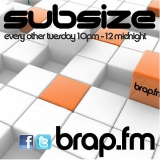Guestmix for Subize Radio on brap.fm (May 2k13)