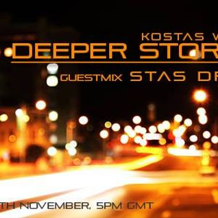 Kostas White - Deeper Stories [05-November-2013] - TM-Radio