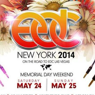 Calvin Harris - Live @ Electric Daisy Carnival (EDC New York) - 25.05.2014
