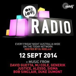 ONELOVE RADIO 12 SEP 2014