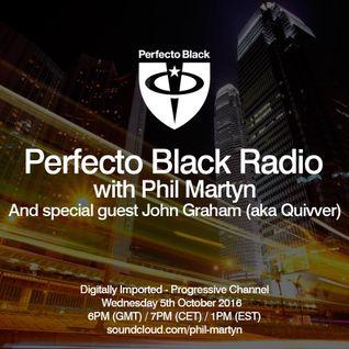 John Graham aka Quivver - Perfecto Black Radio Guest Mix (05-10-2016)