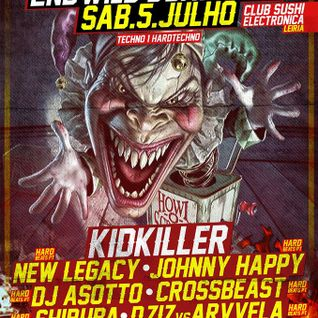NEW LEGACY @ HARD BEATS PT 2ND WILD B-DAY BASH, SUSHI CLUB, LEIRIA, 5-7-2014