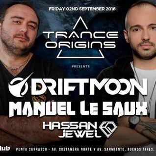 Manuel Le Saux - Live @ Trance Origins Mandarine Club (Buenos Aires) - 02.09.2016