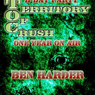 Ben Harder@B-DAY PARTY --TERRITORY OF CRUSH-- ---ONE YEAR ON AIR---