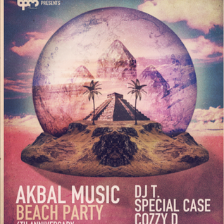 DJ T. @ Akbal Music Beach Party,BPM Festival (12.01.2013)