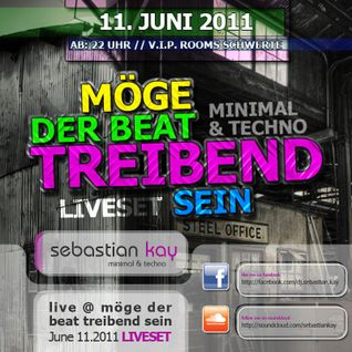Sebastian Kay live @ Club V.I.P. Rooms - Möge der Beat treibend sein - 11.06.2011