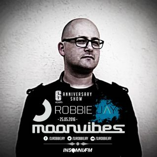 Robbie Jay - Moonvibes Podcast [073] on InsomniaFM (6 Years Anniversary)