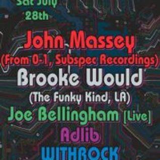 John Massey Dj/Live Hybrid Set @ Shameless/Social-072812
