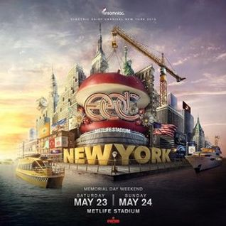 Tiesto @ EDC New York 2015, 2015-05-24